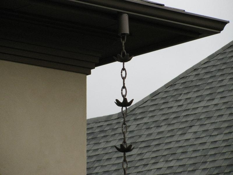 Aluminum Lily Pad Rain Chain